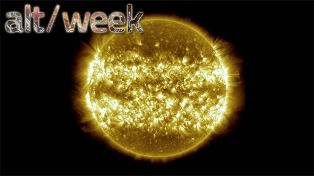 Altweek 42713 sungazing, antimatter and a robot turtle