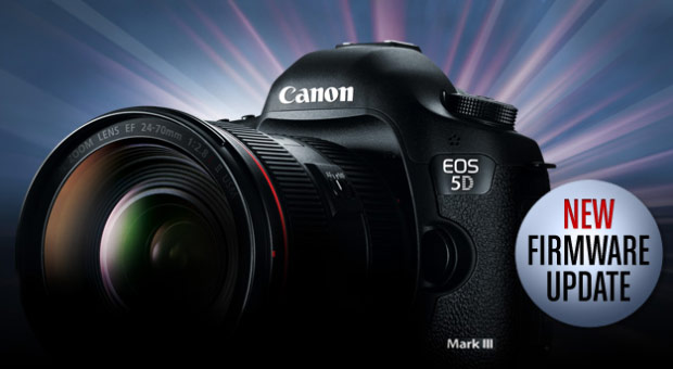 Canon 5D Mark III firmware update enables improved autofocus, uncompressed HDMI output