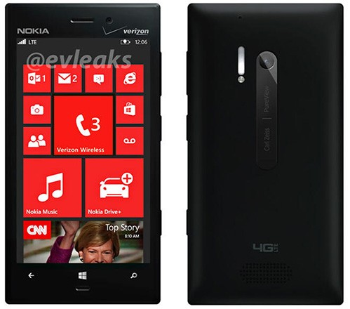 Nokia Lumia 928 for spied for Verizon Wireless