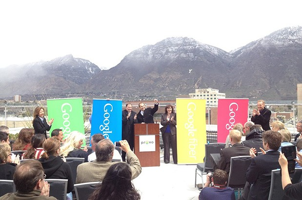 Provo, Utah is the third city to get Google Fiber