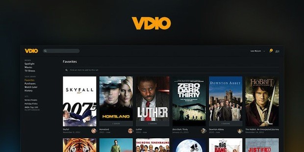 Rdio introduces streaming site Vdio, provides yet another ondemand video service to online viewers