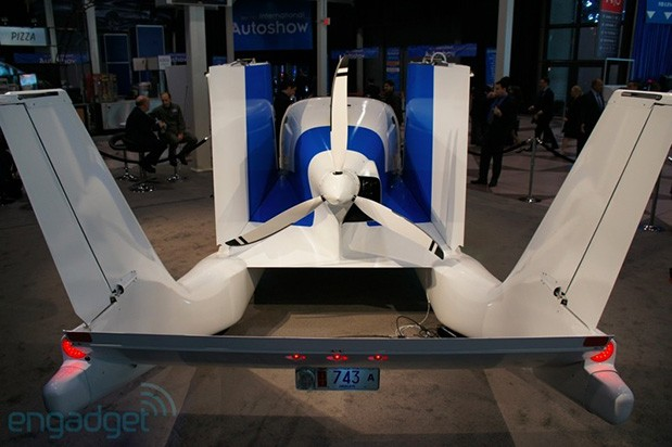 Terrafugia's Transition aircraft not likely to see production this year