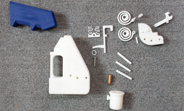 The Liberator, the world's first completely 3Dprinted hand gun, gets fired video
