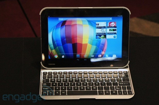 Toshiba intros three Android tablets, two with Tegra 4 and a 2,560 x 1,600 screen