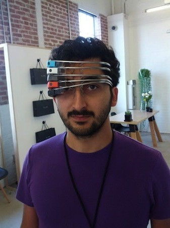 Caption contest Google Glass explorer takes virtual vision to a whole new level