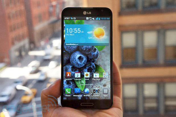 LG Optimus G Pro for AT&T what's different