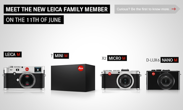 Leica teases Mini M camera unveil for June 11  we leic sic