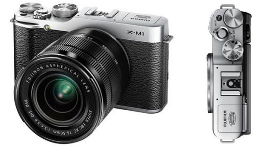 Fujifilm's XM1 interchangeable camera leaks out, doesn't mess with vintage success
