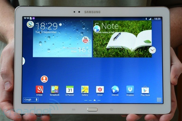 Samsung Galaxy Note 101 2014 edition handson