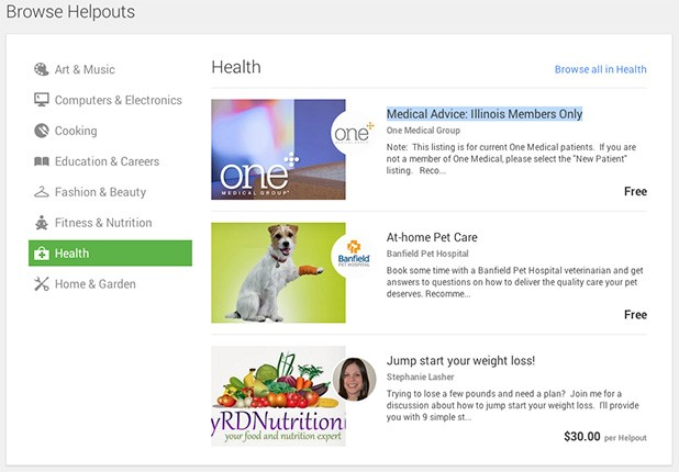 Google Helpouts aims to improve your life with the healing power of web video