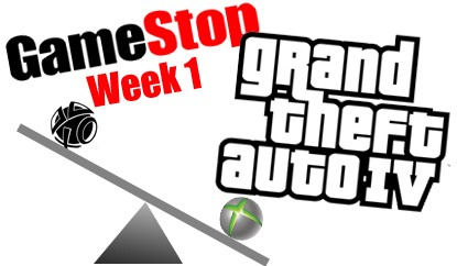 Gamestop GTAIV 360 Sells Almost 2 To 1 Over PS3 In First