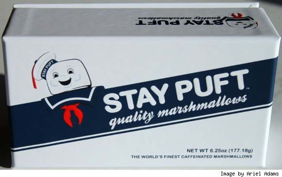 """Stay Puft Marshmallows Specially Made For Ghostbusters 3 Movie Are """"World's Finest"""""""
