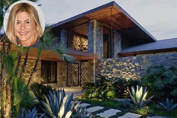 ennifer aniston home LA