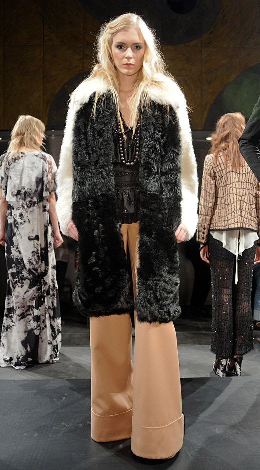Chris Benz Fall 2011: Fur