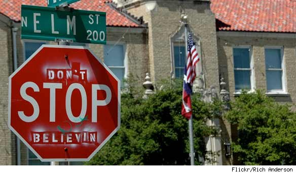 Hacked Altered Stop Signs Journey