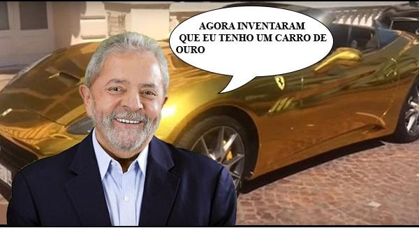 LULA CARRO OURO