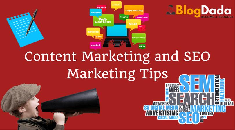 content marketing seo marketing tips