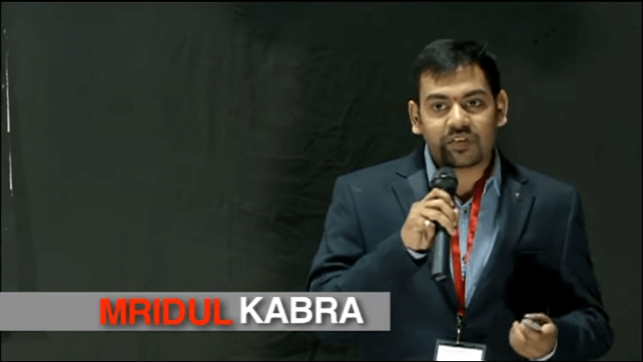 Mridul Kabra Presents a TEDx talk on Cryptocurrency and Blockchain