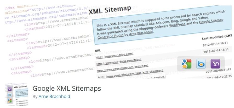 Top SEO WordPress Plugins - Google XML Sitemaps