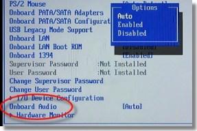 Desabilitar Periféricos da BIOS 2