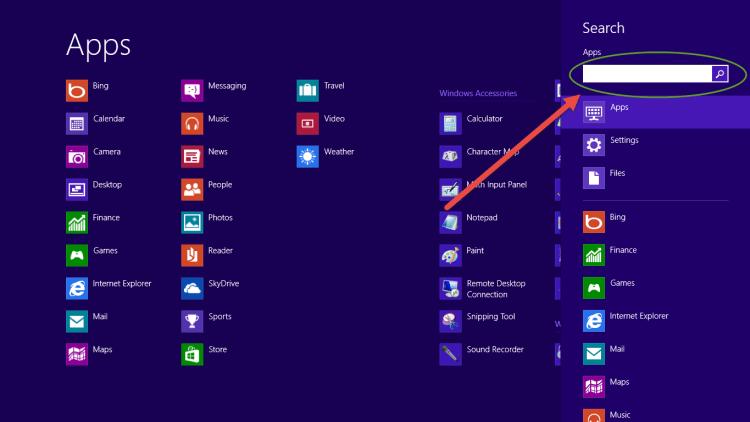 Windows 8 - msconfig