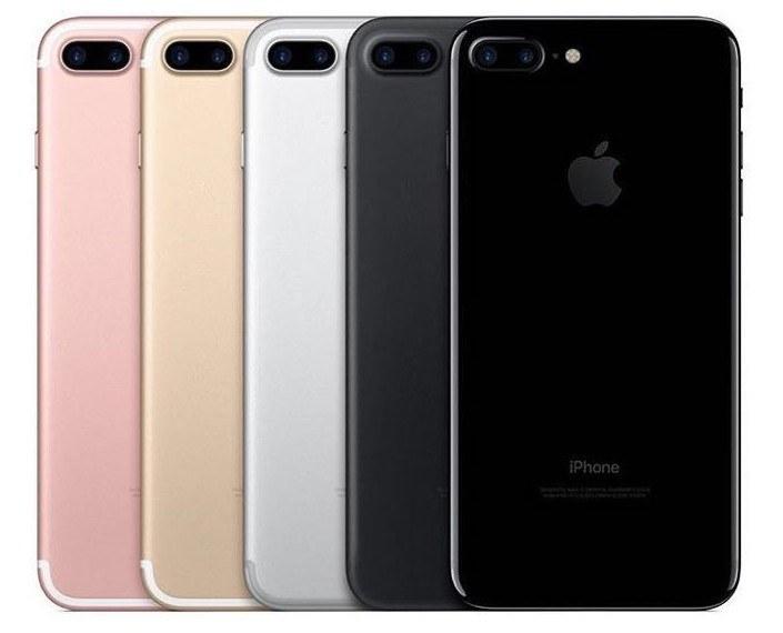 iPhone 7 - Cores disponíveis