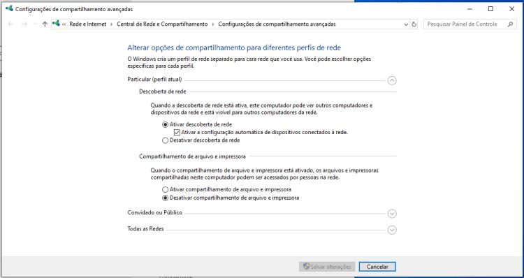 Compartilhamento de impressoras na rede Windows de maneira rápida e correta 8