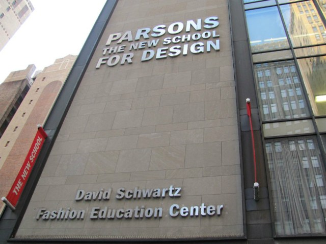 Parsons School of Design | Foto: Benoît Prieur, via Wikimedia Commons