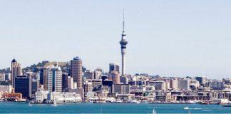Nova Zelândia   Foto: Auckland Byaswater marina, via Wikimedia Commons