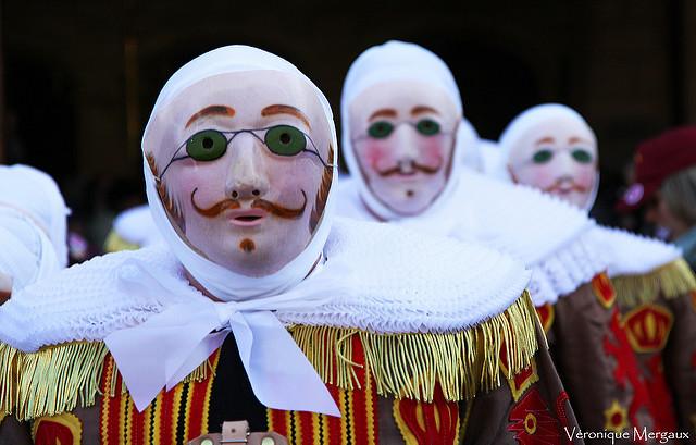 Gilles, Carnaval de Binche | Foto: Véronique Mergaux, via Flickr