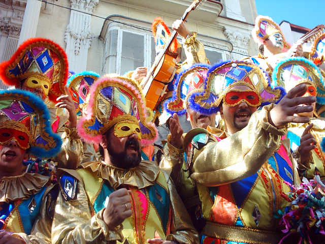 Carnaval de Cadiz, Andaluzia, Espanha | Foto: Pedro de Matos, via Flickr