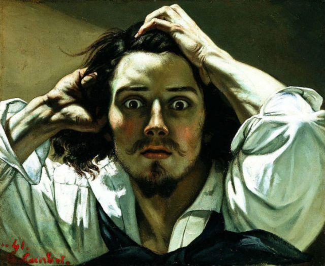 Fundación Botin   Obra: Le Désespéré, Gustave Courbet   Domínio público, via Wikimedia Commons