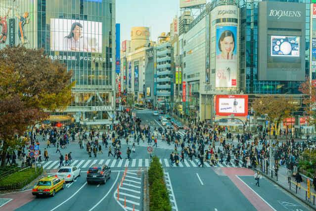 Shibuya, centro de Tóquio | Foto: Yoshikazu Takada, via Flickr