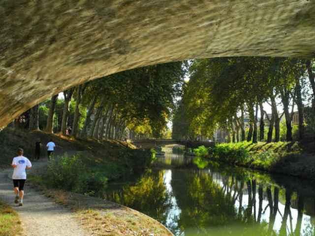 Canal du Midi, Toulouse | Foto: Marcel Musil, via Flickr