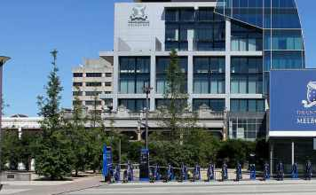 Universidade de Melbourne, Alan Gilbert Building | Foto: Donaldytong, via Wikimedia Commons