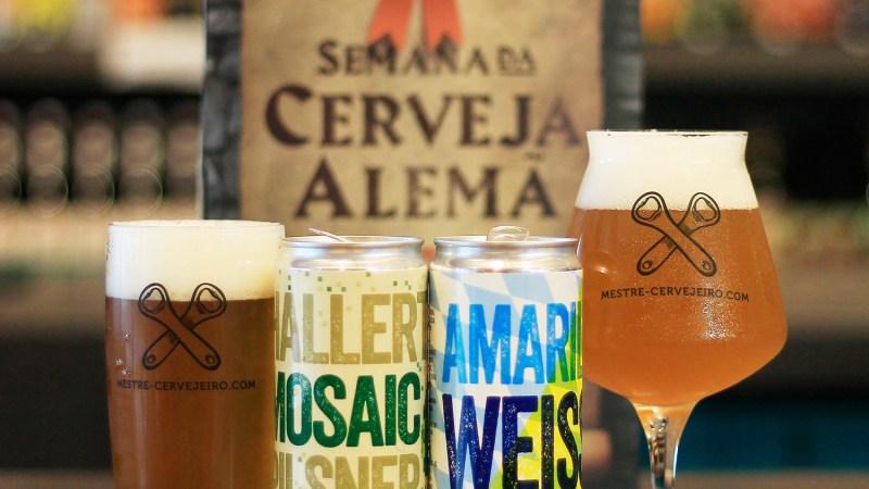 Mestre-Cervejeiro.com lança duas novas cervejas nas versões em lata na semana da cerveja Alemã