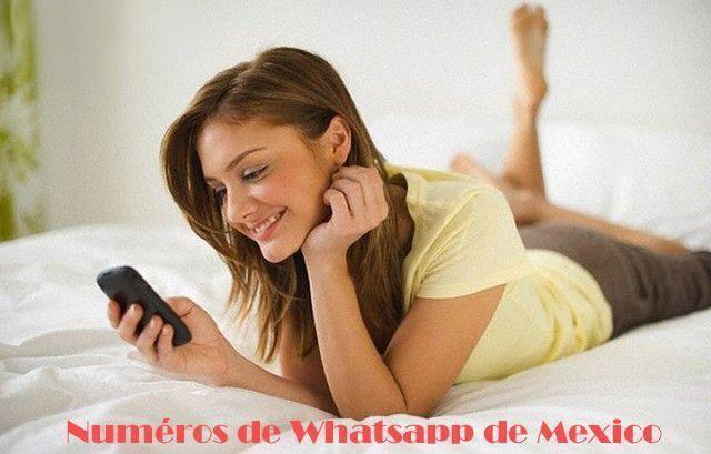 58f5fb8f7aded Números de Whatsapp de Chicas o Mujeres de México 2019 - Blog de ...