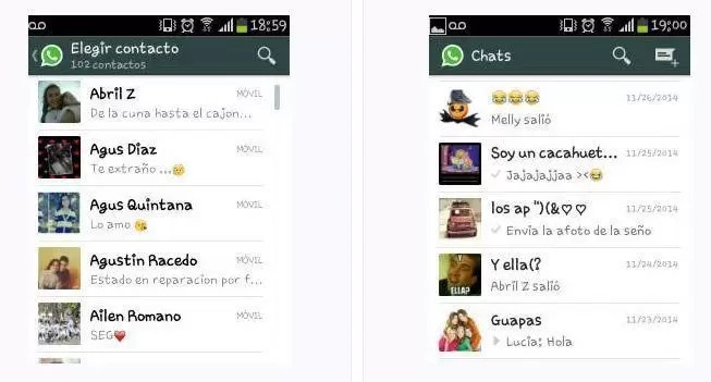 conocer chicas por whatsapp chile