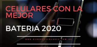 celulares con mejor batería 2020