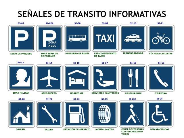 Cuales son las señales de transito y su significado
