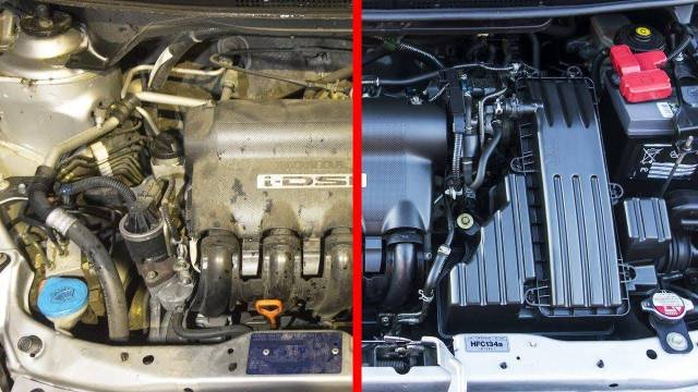 Como limpiar el motor de un auto por dentro y por fuera