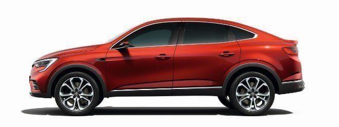 Renault Arkana es revelado antes del Salón de Moscú 3