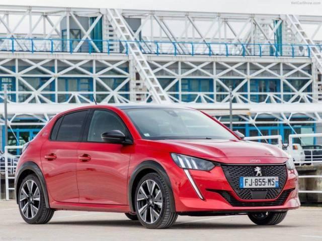 Peugeot 208 Vista exterior y frontal