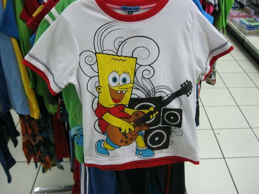 camiseta bart esponja Camiseta fake de Bart Esponja