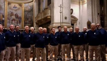 Il Coro Soldanella nella sua formazione