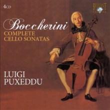 Luigi Boccherini, Complete Cello Sonatas - Luigi Puxeddu