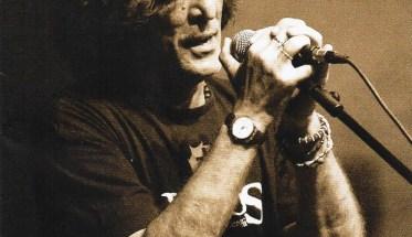 Roberto Bignoli nella copertina del disco Confido in te