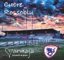 Lo Stadio Battaglini di Rovigo nella copertina Cuore Rossoblù dei Marmaja