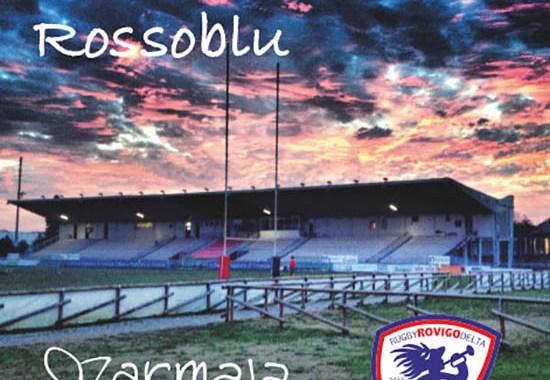 Lo Stadio di Rugby Battaglini nella copertina del disco dei Marmaja, Cuore Rossoblu