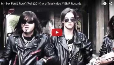 M Rock, Sex Fun & Rock'n'Roll - Video